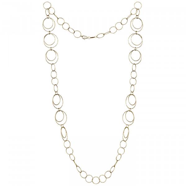 Der Kettenmacher Halskette Ring 3 Gold - RK2-80G