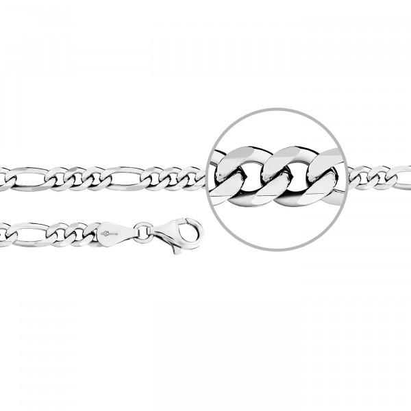 Kettenmacher Figaro Armband 4,4 mm - F3-S
