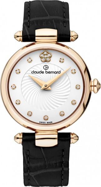 Claude Bernard Dress Code Rose Weiss Small Quarz Uhr - 20501-37R-APR2