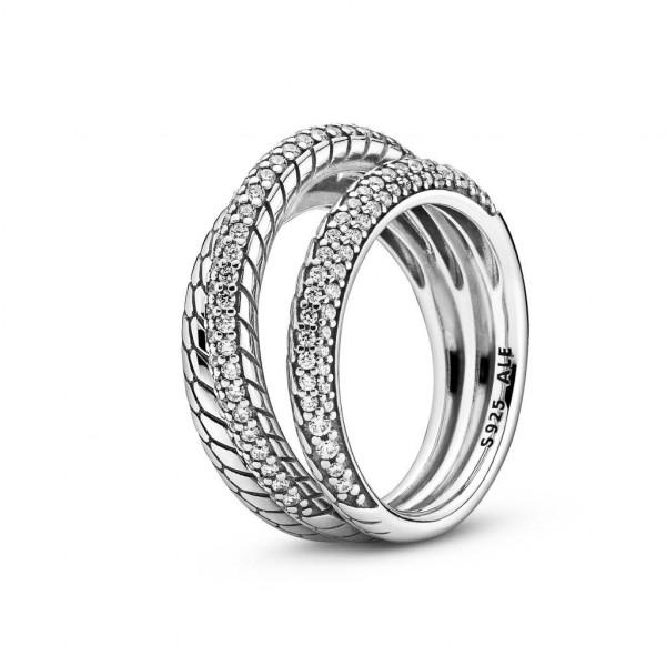 PANDORA Ring Snake Chain Pattern - 189057C01