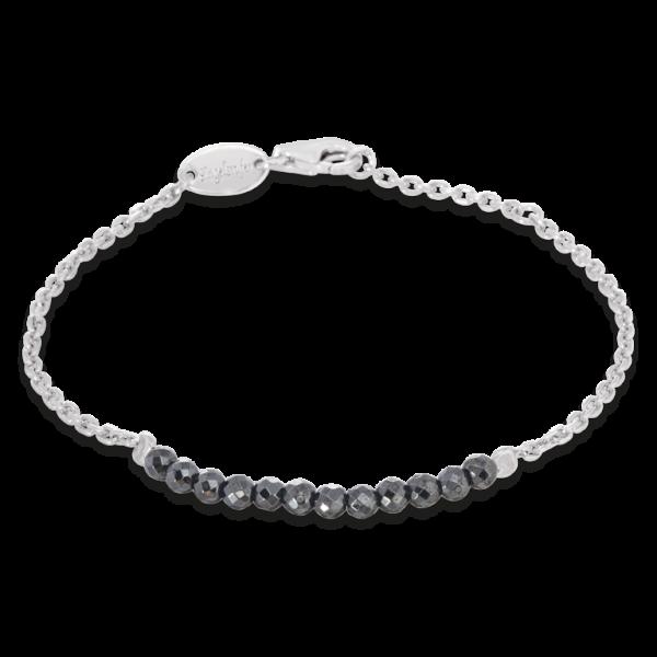 Engelsrufer Armband Plata Hämatit-ERB-18-PLATA-HA