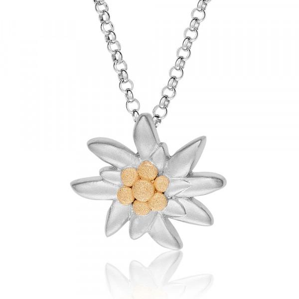 Gexist Swiss Line Edelweiss Halskette klein