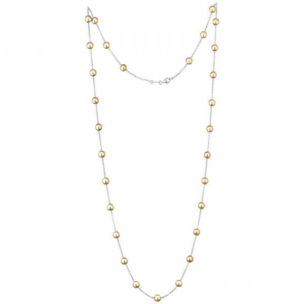 Der Kettenmacher Halskette Kugel Gold - K-50G