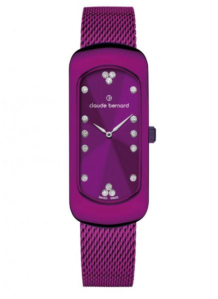 Claude Bernard Damenuhr Chloé Small Rosé Violet - 20227-37VIOM-VIOPN