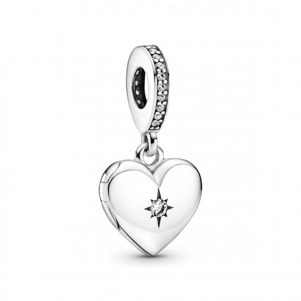 Pandora Charm Anhänger Herz Medaillon - 799537C01