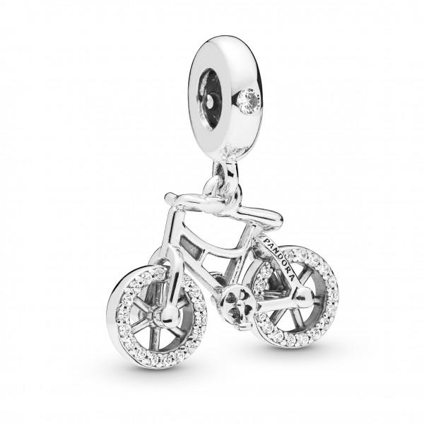 PANDORA Charm dangle Brilliant Bicycle - 797858CZ