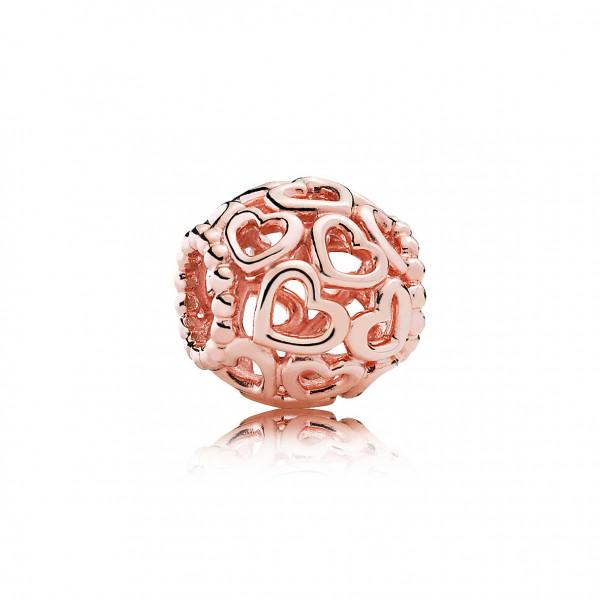 PANDORA Rose Charm Herzstrudel - 780964