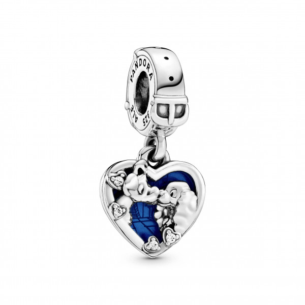 PANDORA Disney Charm Anhänger Lady and the Tramp - 798634C01