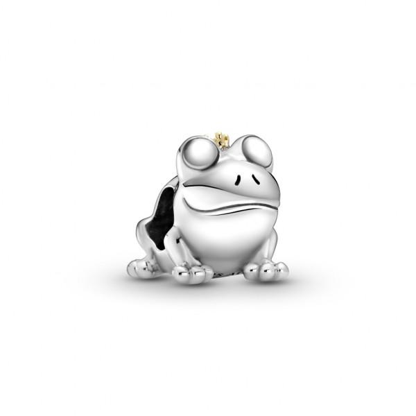 Pandora Charm Zweifarbiger Froschkönig - 799342C00