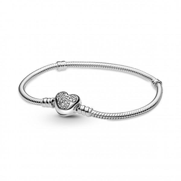 Pandora Disney Armband Micky Mouse Heart - 599299C01