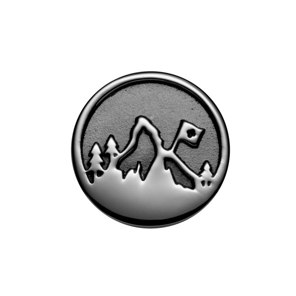 Gexist Swiss Edelweiss Armband Element Berg Silber - B-9050
