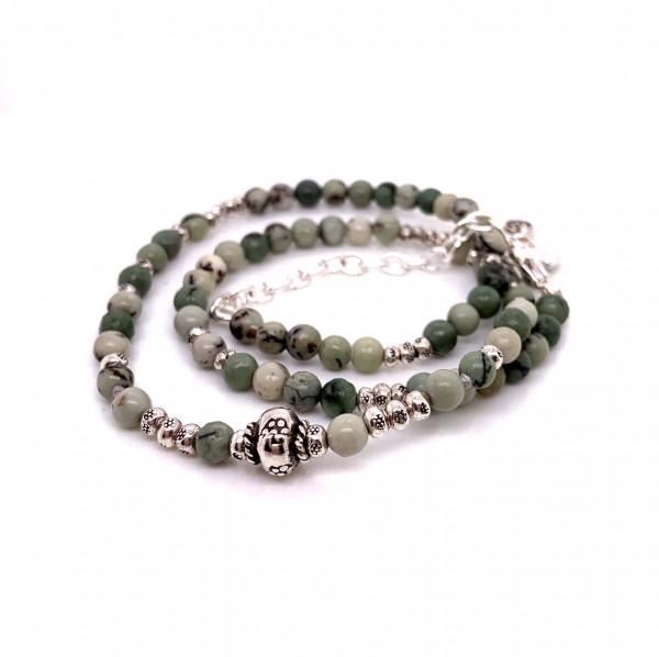 Halskette Natural Jaspis - 88-2033-13-1
