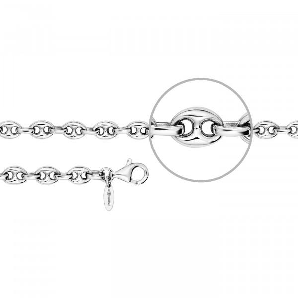 Der Kettenmacher Silberarmband Schiffsankerarmband 6,5 mm - CK1-S