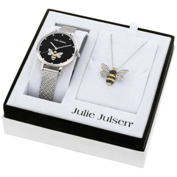 Julie Julsen Damenuhr Bee Set - JJW1072SME-SET